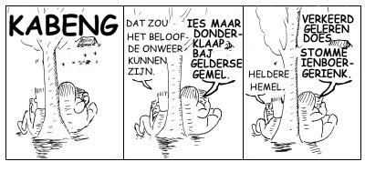 Voor Verbeek kwam het ontslag uiteindelijk als een donderklap bij Gelderse hemel