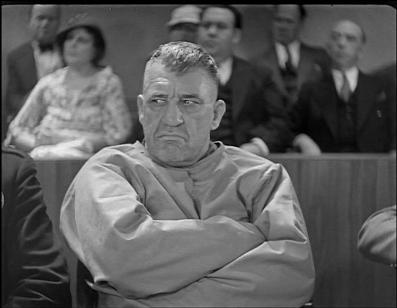 Walter Long als keiharde boef in een film van Laurel en Hardy